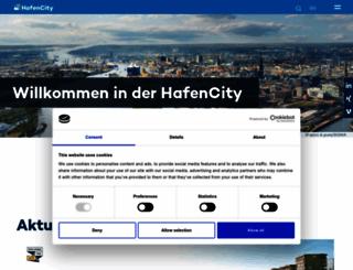 hafencity.com screenshot