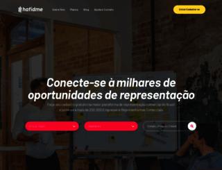 hafidme.com.br screenshot