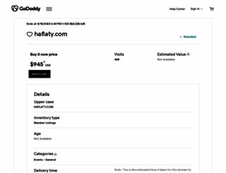 haflaty.com screenshot