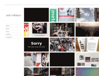 haflidason.com screenshot