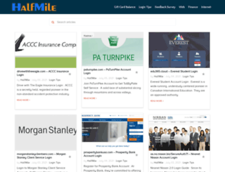 hafmile.com screenshot