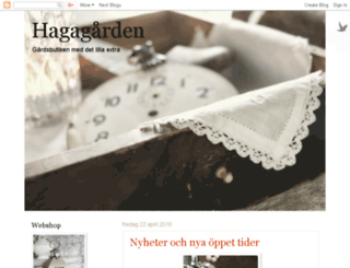 hagagarden.blogspot.com screenshot