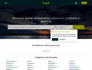 hagah.com.br screenshot