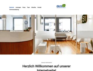 hagemann-zahnarzt.de screenshot