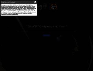 hagiasophiasubterranean.itu.edu.tr screenshot