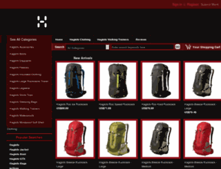 haglofsjackets.co.uk screenshot