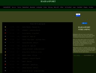 hahasports.net screenshot