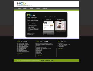hahncreativegroup.com screenshot