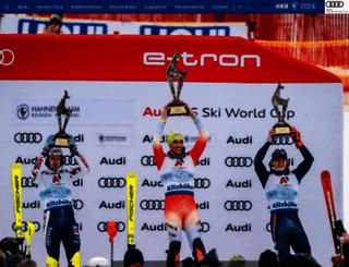 hahnenkamm.com screenshot