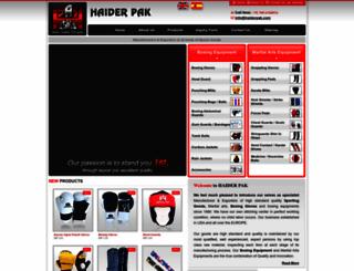haiderpak.com screenshot