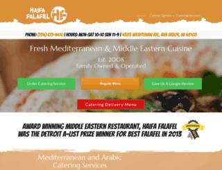 haifafalafel.com screenshot