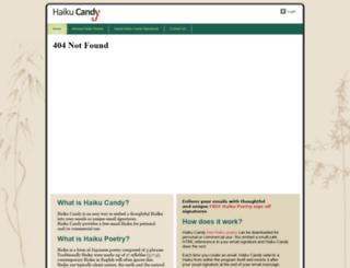 haikucandy.com.au screenshot