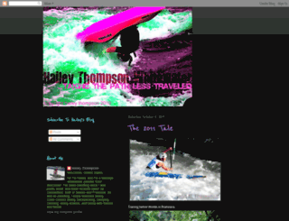 haileythompsonwhitewater.blogspot.com screenshot