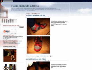 haineonline-olivia.blogspot.com screenshot