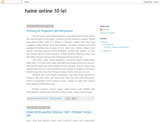 haineonline10lei.blogspot.com screenshot