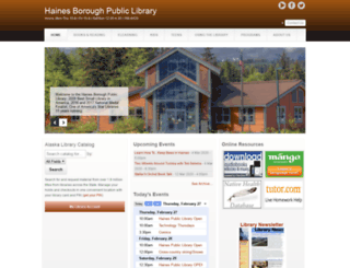 haineslibrary.org screenshot