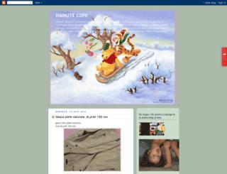hainutecustilpentrucopii.blogspot.com screenshot