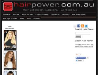 hair-extension-suppliers.com.au screenshot