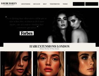 hair-extensionslondon.co.uk screenshot