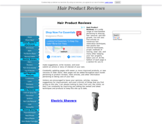 hair-removal-products-reviews.com screenshot