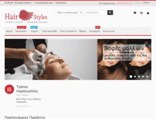 hair.sitesweb.gr screenshot