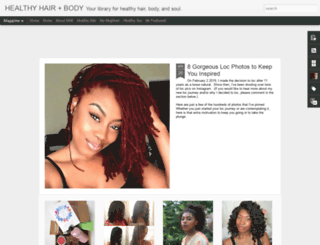 hairandhealth.blogspot.com screenshot