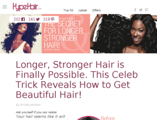 hairb.eauty.co screenshot