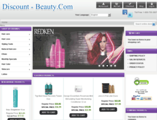 haircarebeautysupplies.com screenshot