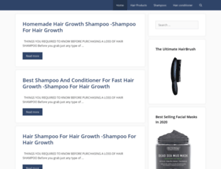 haircareresources.com screenshot