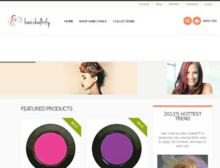 hairchalkify.com screenshot