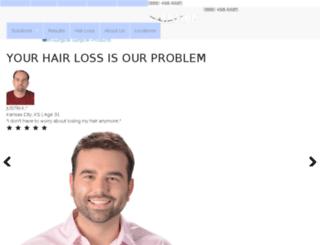 hairclub.artifextech.com screenshot
