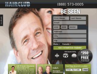 hairclubsolutions.artifextech.com screenshot