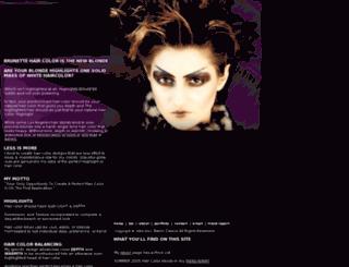 haircolordiva.com screenshot