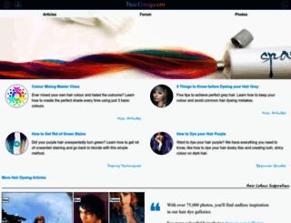 haircrazy.com screenshot