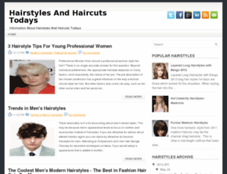 haircuts-todays.blogspot.com screenshot