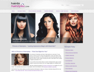 hairdohairstyles.com screenshot