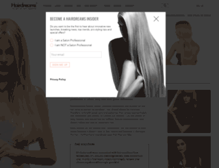 hairdreamsusa.com screenshot
