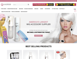 hairess.com screenshot