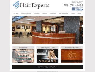 hairexpertssalonandspa.com screenshot