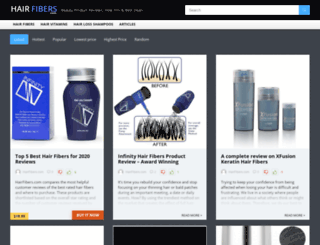 hairfibers.com screenshot