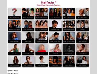 hairfinder.com screenshot