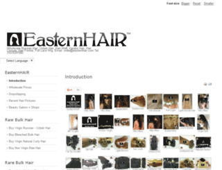 hairformaster.com screenshot