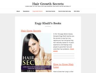 hairgrowsecrets.com screenshot