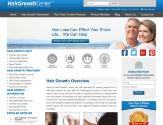 hairgrowths.org screenshot