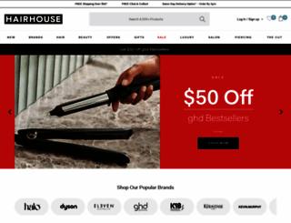 hairhousewarehouse.com.au screenshot