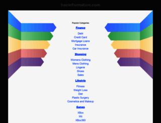 hairinformation.com screenshot