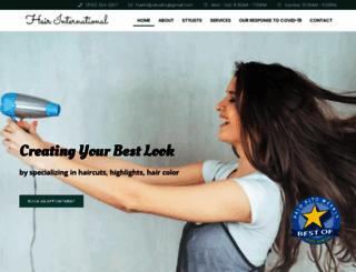 hairintl.com screenshot