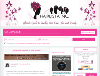 hairlista.com screenshot