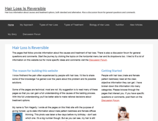 hairloss-reversible.com screenshot