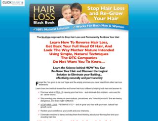 hairlossblackbook.com screenshot